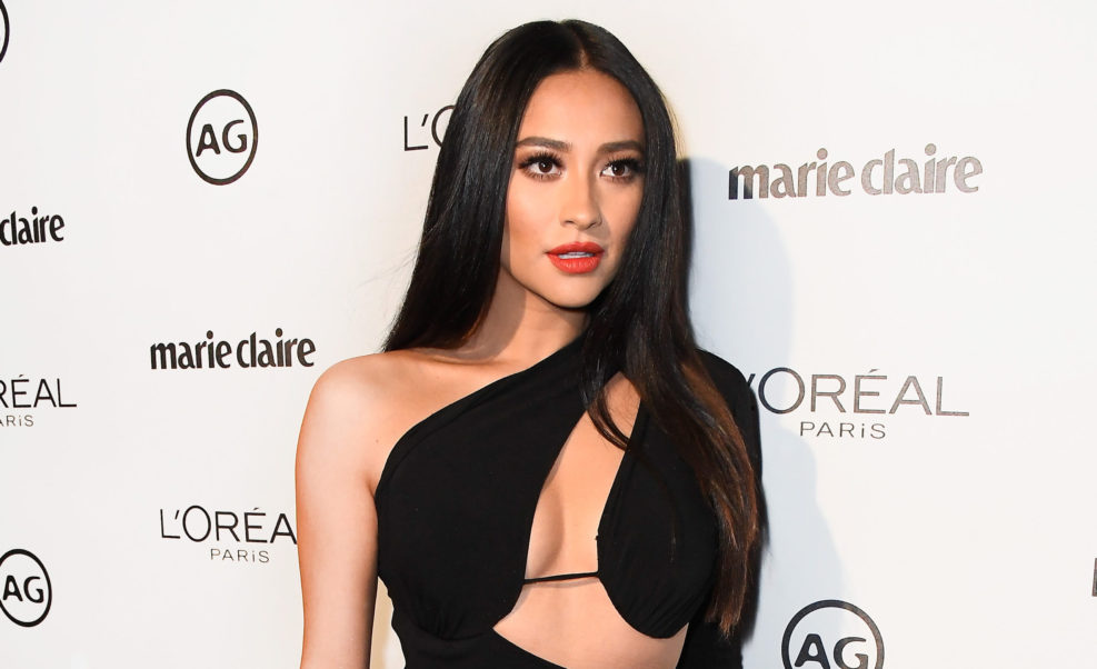 Shay Mitchell Marie Claire Arrivals
