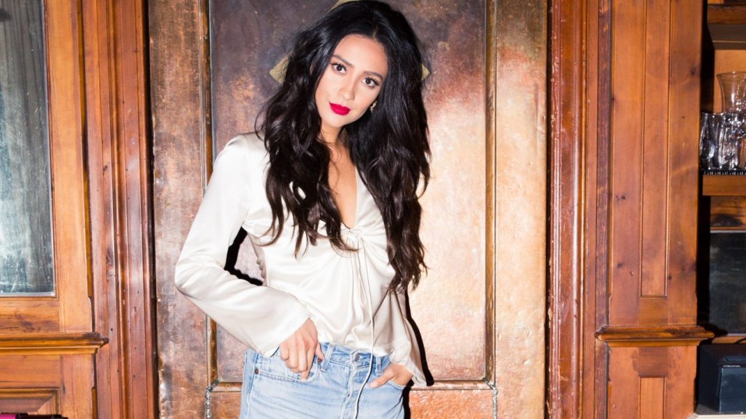 Shay Mitchell Hot Red Lips