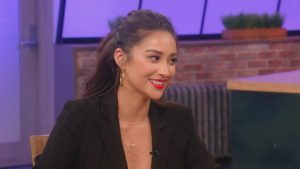 Shay Mitchell On TV 300x169 - Nice Smiling Shay Mitchell