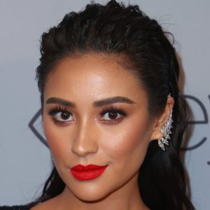 Shay Mitchell Red Hot Lips