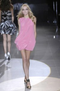 Snejana Onopka Pink Dress 200x300 - Snejana Onopka Photo