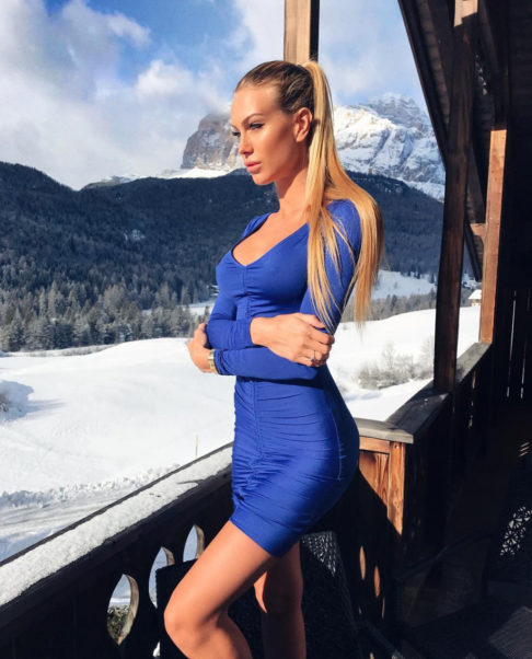 Taylor Mega Blue Dress