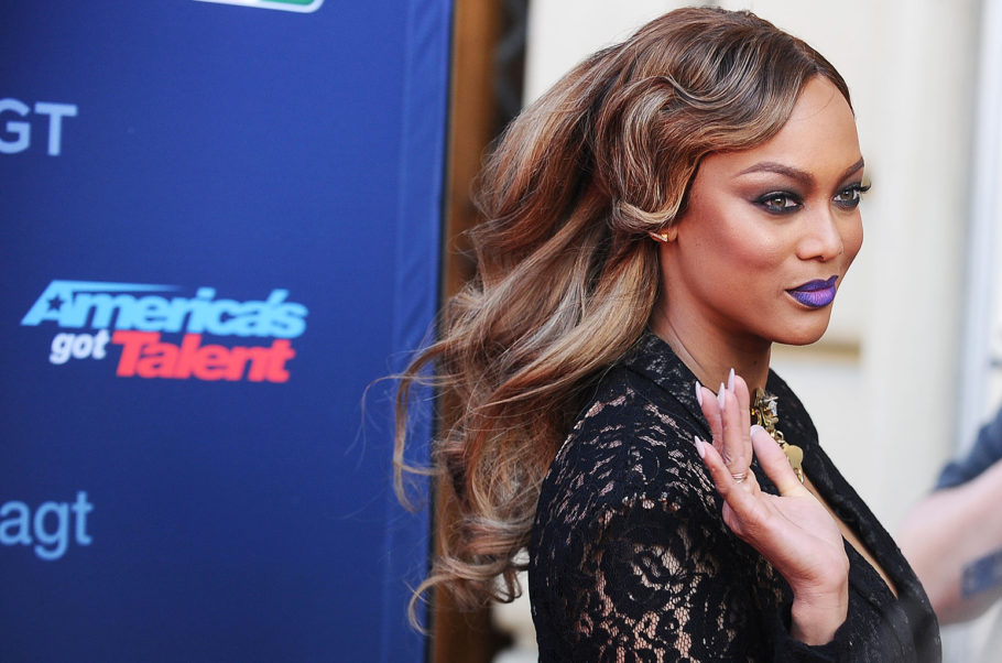 Tyra Banks Arrival Images