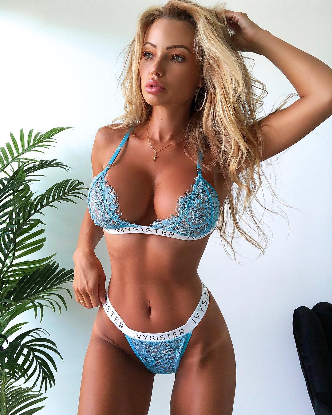 Abby Dowse Hot Blue Bra 1