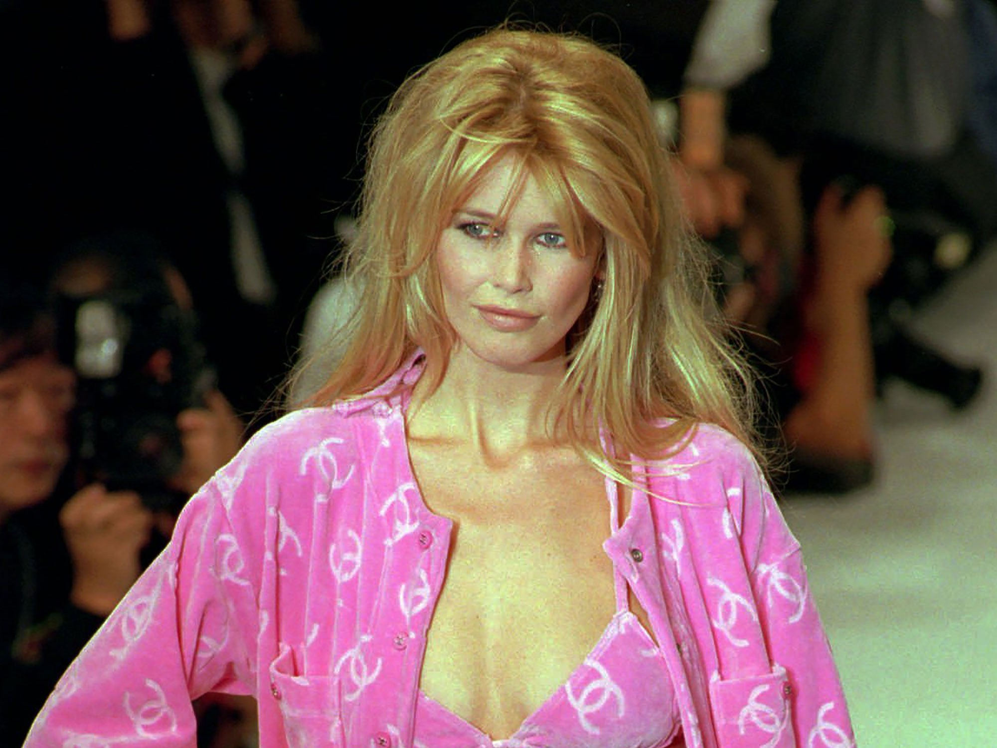 Blonde Top Model Claudia Schiffer 1