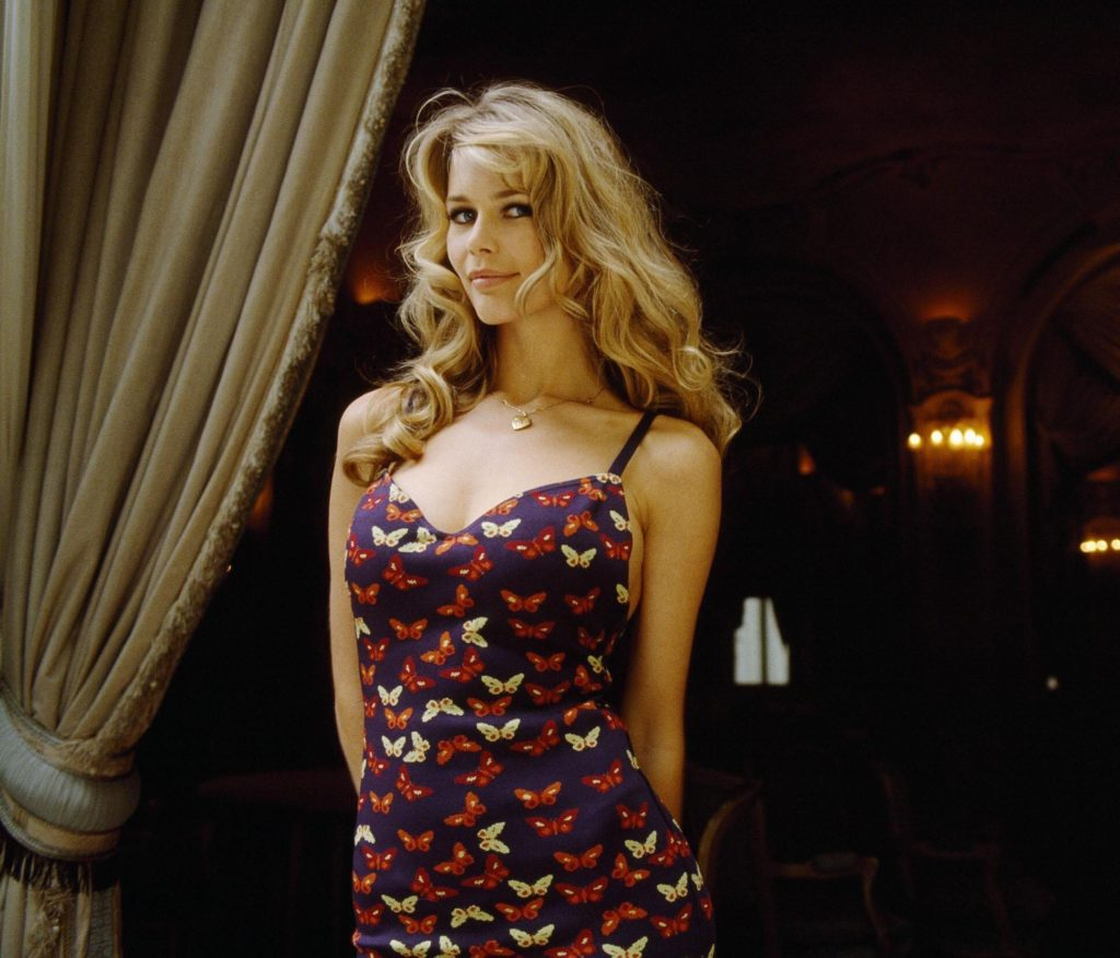 Claudia Schiffer Colorful Dress 1024x876 - Claudia Schiffer Net Worth, Pics, Wallpapers, Career and Biography