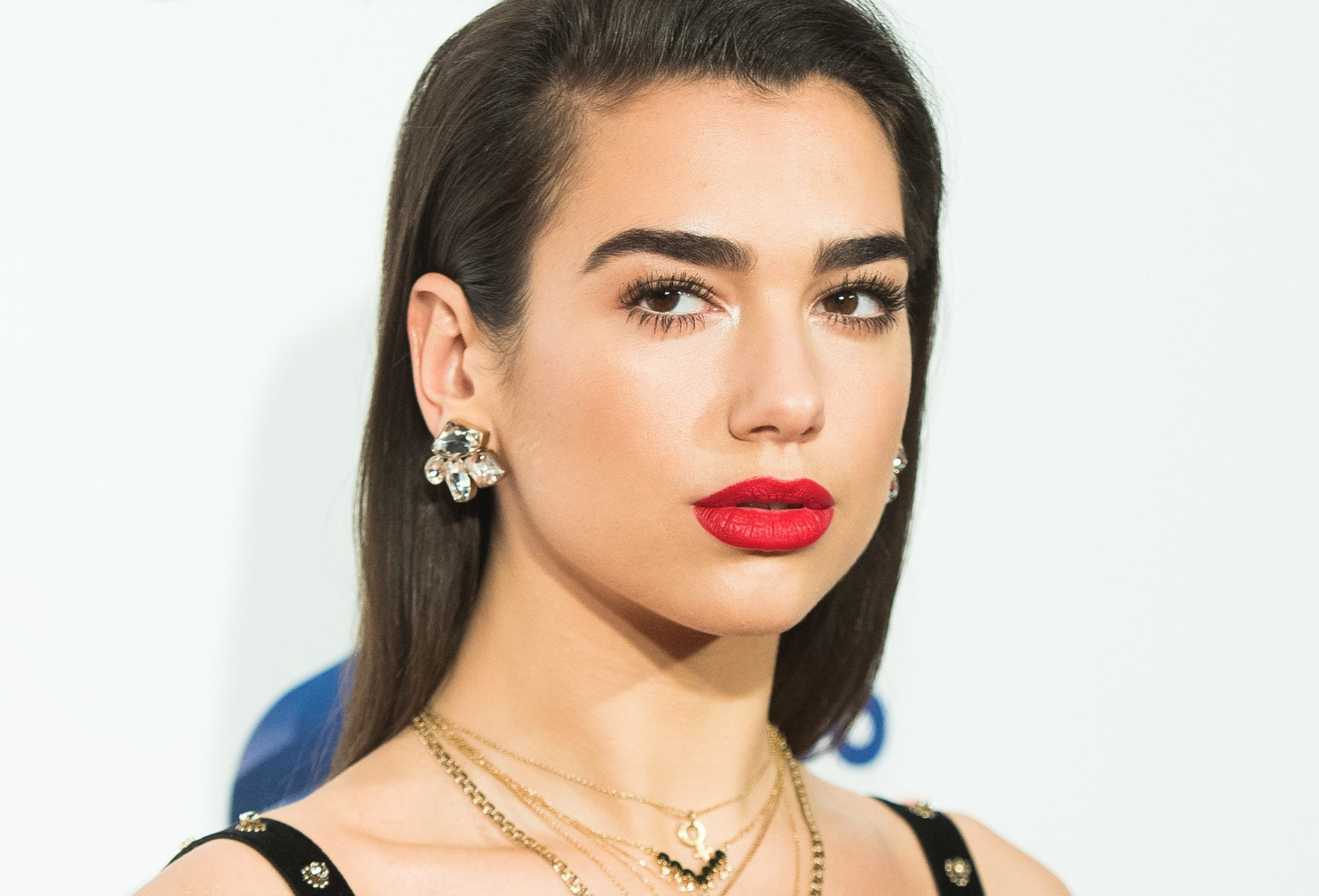 Dua Lipa Hot Red Lips scaled - Dua Lipa Net Worth, Pics, Wallpapers, Career and Biography