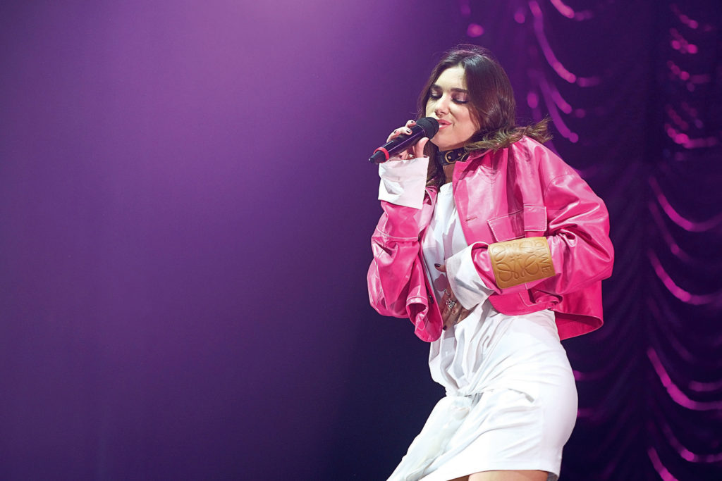 Singing Wallpaper Of Dua Lipa 1024x683 - Singing Wallpaper Of Dua Lipa