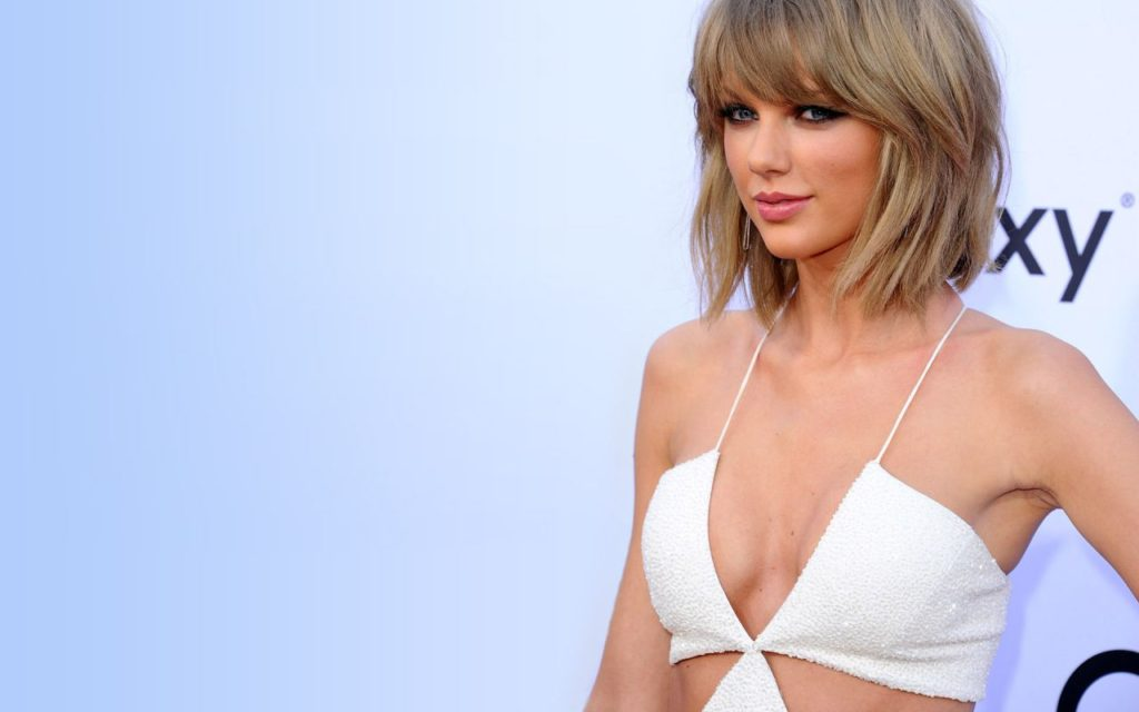 Taylor Swift White Dress Wallpaper 1024x640 - Taylor Swift White Dress Wallpaper