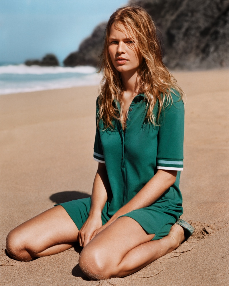 Anna Ewers Green Blouse Modeling Pics - Anna Ewers Net Worth, Pics, Wallpapers, Career and Biography