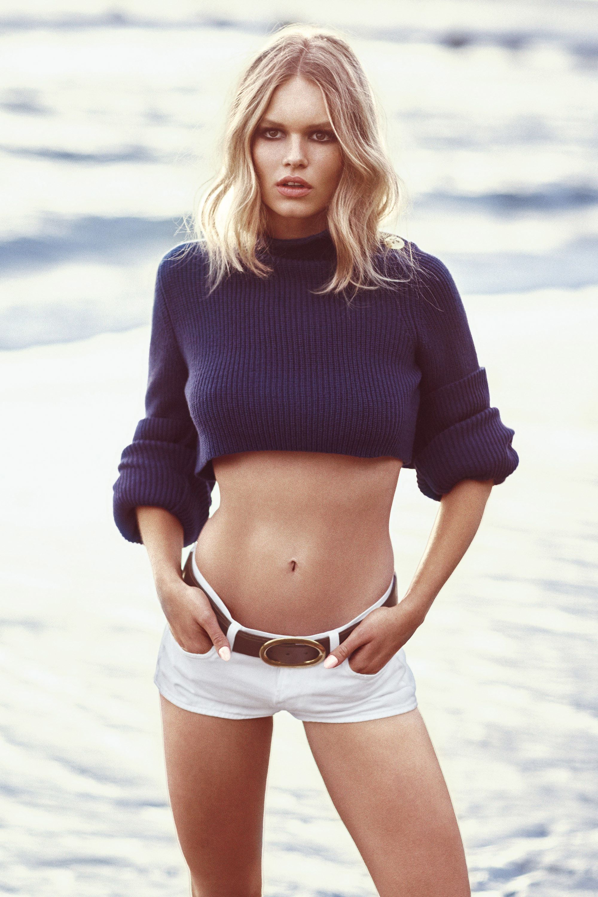 Anna Ewers Top Modeling By The Sea — Celeb Lives