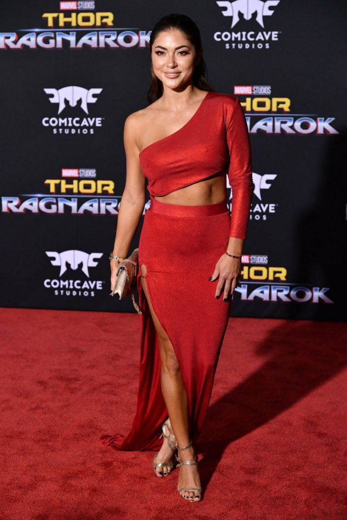 Arianny Celeste Thor Ragnarok Premiere Arrivals 683x1024 - Arianny Celeste Net Worth, Pics, Wallpapers, Career and Biography