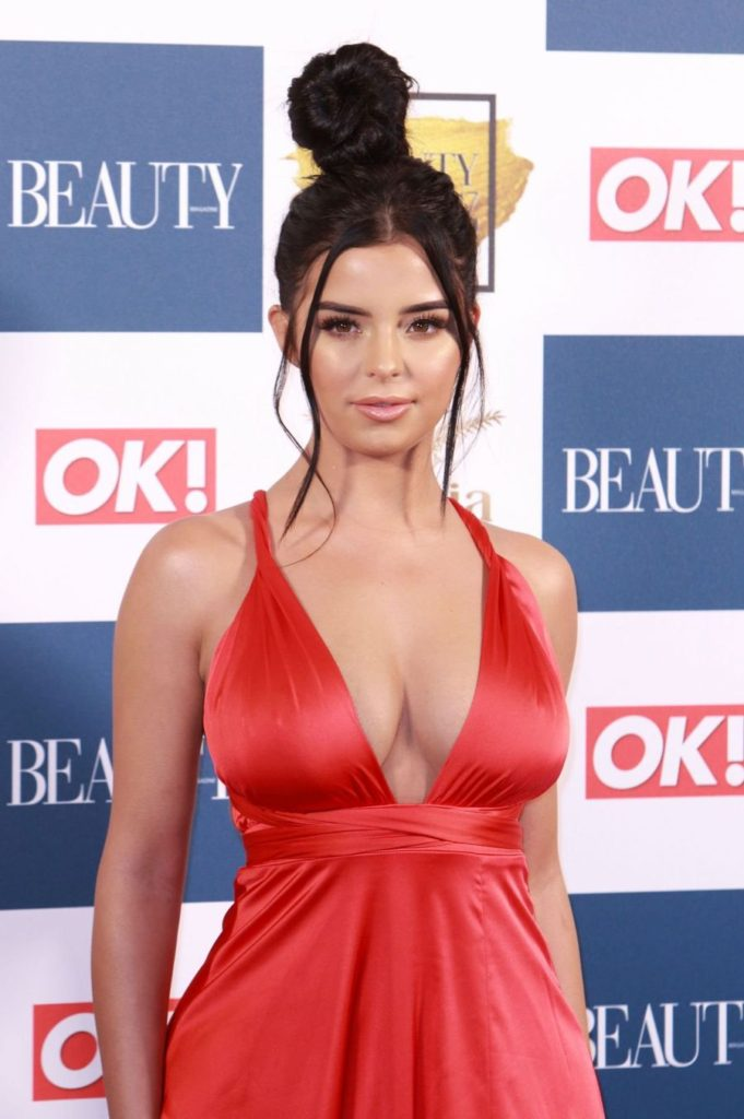 Demi Rose Hot Red Gala Dress 681x1024 - Demi Rose Net Worth, Pics, Wallpapers, Career and Biography