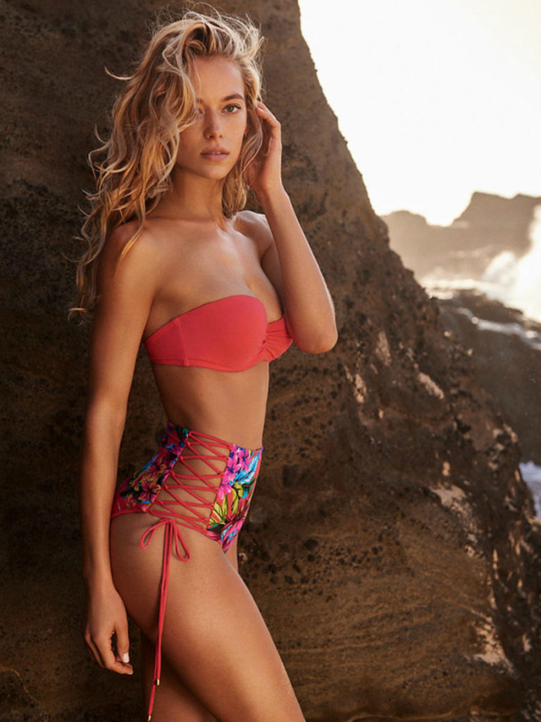 Hannah Ferguson Hot Red Bikini 768x1024 - Hannah Ferguson Net Worth, Pics, Wallpapers, Career and Biography