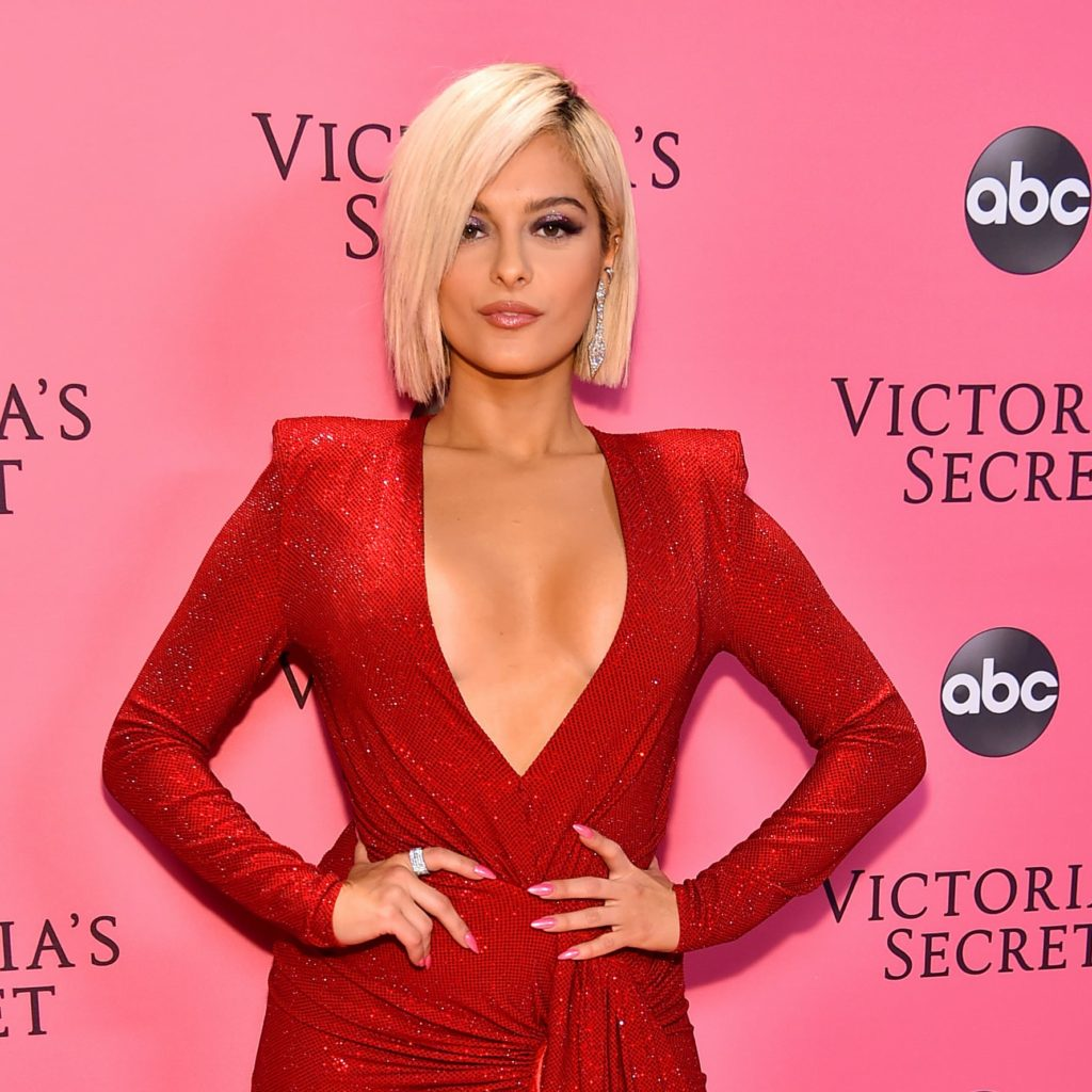 Hot Bebe Rexha In Red Dress 1024x1024 - Bebe Rexha Net Worth, Pics, Wallpapers, Career and Biography