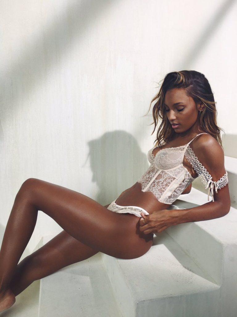 Jasmine Tookes Hot Lingerie Pics 768x1024 - Jasmine Tookes Net Worth, Pics, Wallpapers, Career and Biography