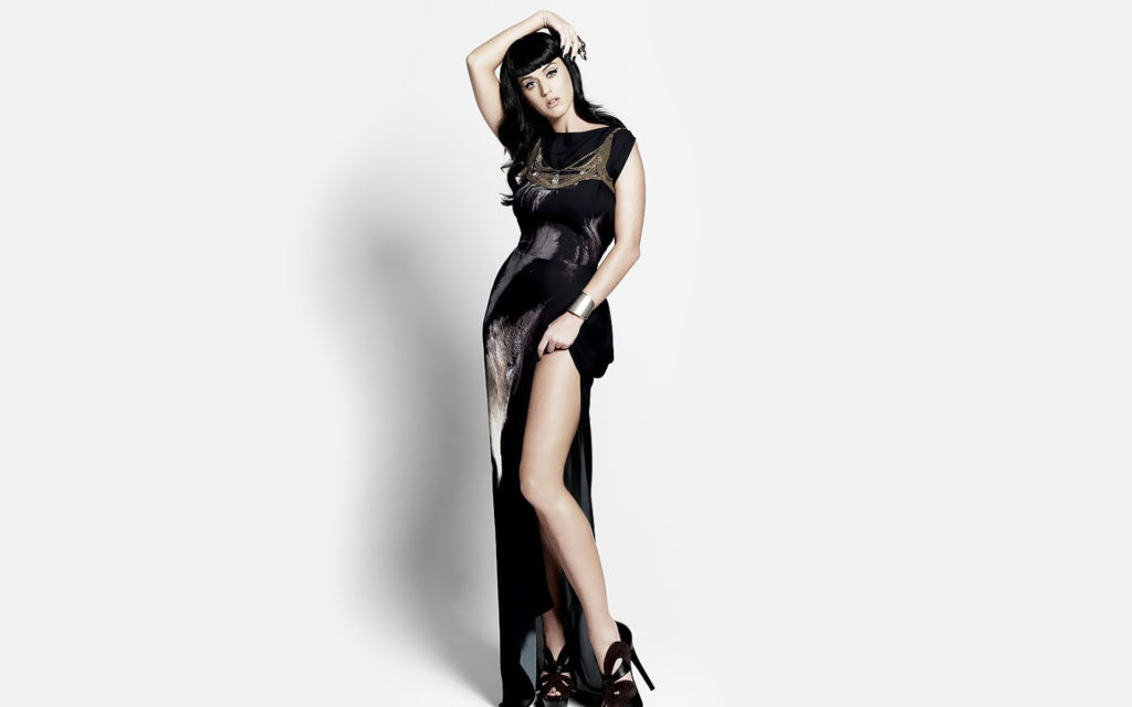 Katy Perry Black Dress Wallpapers 1024x640 - Katy Perry Black Dress Wallpapers