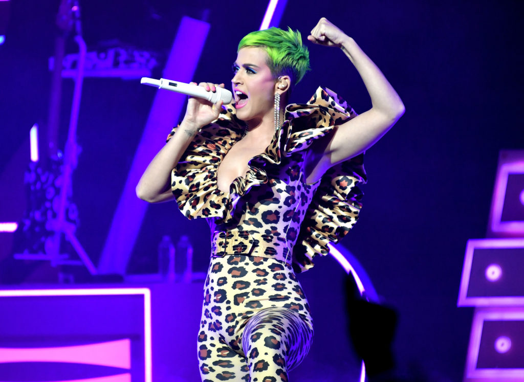 Katy Perry Tigerskin Concert Costume 1024x747 - Katy Perry Tigerskin Concert Costume