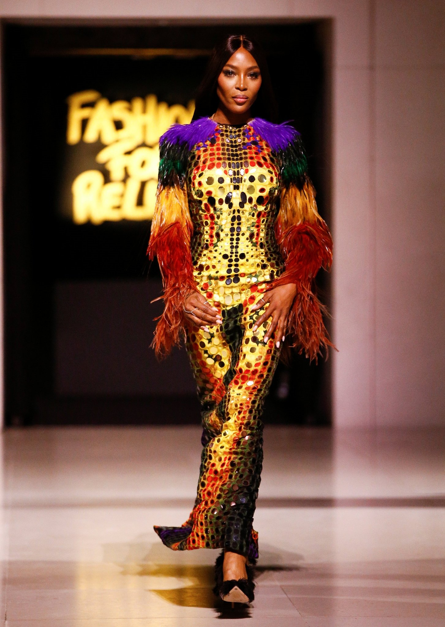 Naomi Campbell Modeling Images - Naomi Campbell Modeling Images