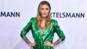 Sophia Thomalla Hot Green Dress 300x169 - Nazarova Arina Net Worth, Pics, Wallpapers, Career and Biography