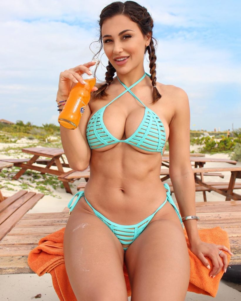 Ana Cheri Hot Bikini Outdoors 820x1024 - Ana Cheri Hot Bikini Outdoors