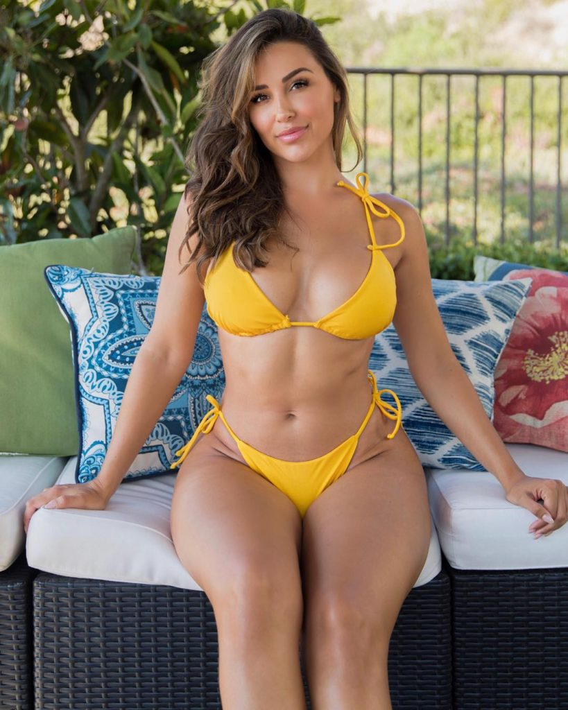 Ana Cheri Hot Yellow Bikini Pics 819x1024 - Ana Cheri Net Worth, Pics, Wallpapers, Career and Biography