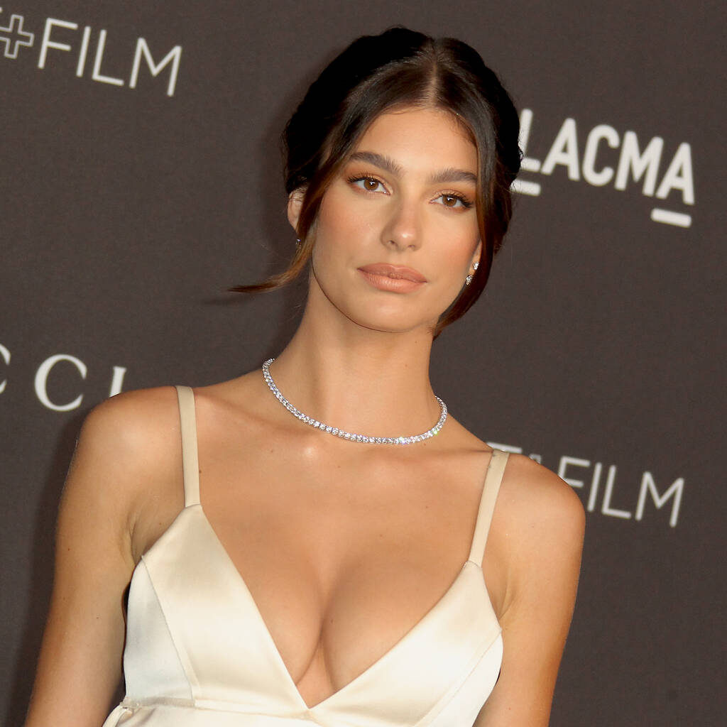 Camila Morrone Hot Decollete 1024x1024 - Camila Morrone Net Worth, Pics, Wallpapers, Career and Biography