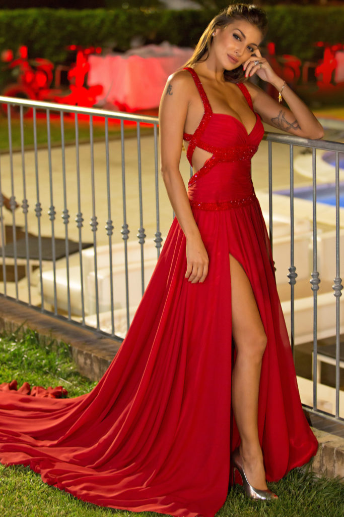 Christina Buccino Hot Red Dress 683x1024 - Christina Buccino Net Worth, Pics, Wallpapers, Career and Biography
