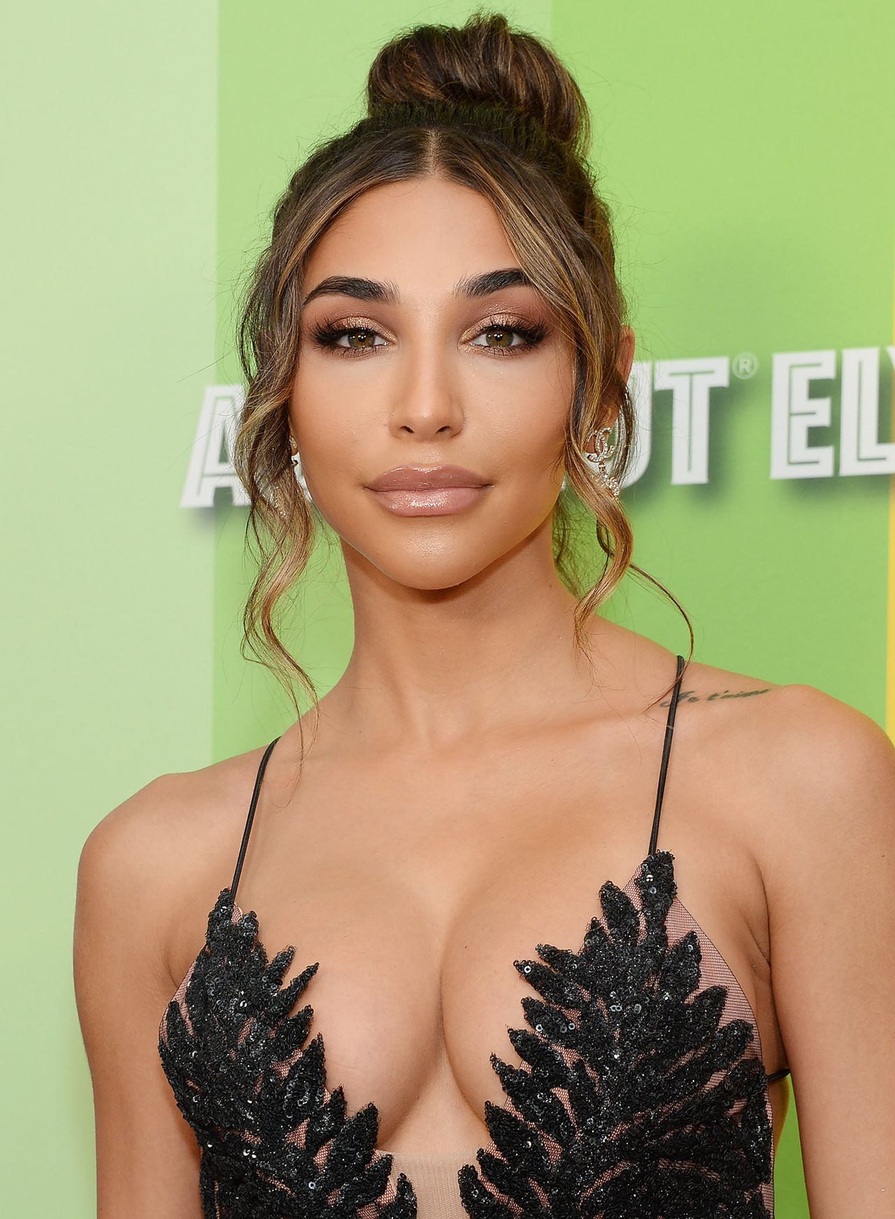 Glamour Chantel Jeffries Hot Decollete Black Dress - Glamour Chantel Jeffries Hot Decollete Black Dress