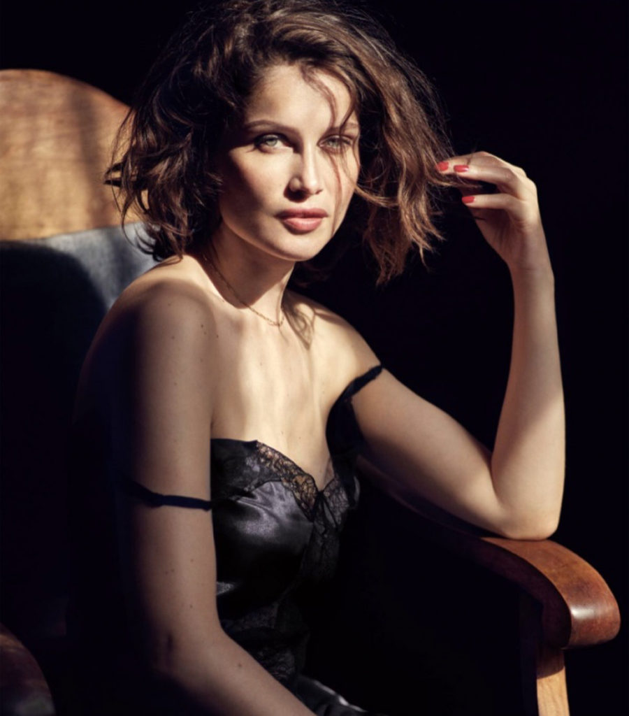 Laetitia Casta Hot Lingerie Pose 900x1024 - Laetitia Casta Net Worth, Pics, Wallpapers, Career and Biography