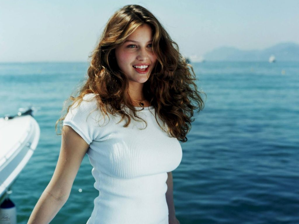 Laetitia Casta Hot White Shirt 1024x768 - Laetitia Casta Net Worth, Pics, Wallpapers, Career and Biography