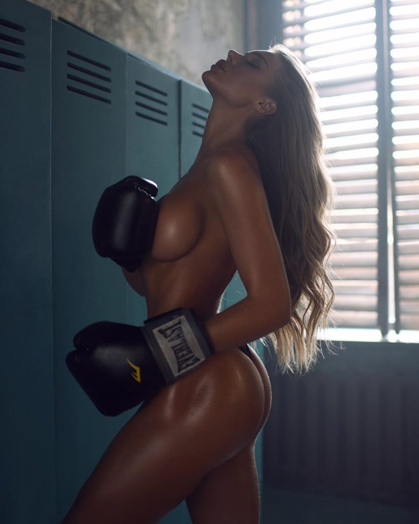 Lika Andreeva Hot Oily Boxing Workout 819x1024 - Lika Andreeva Net Worth, Pics, Wallpapers, Career and Biography