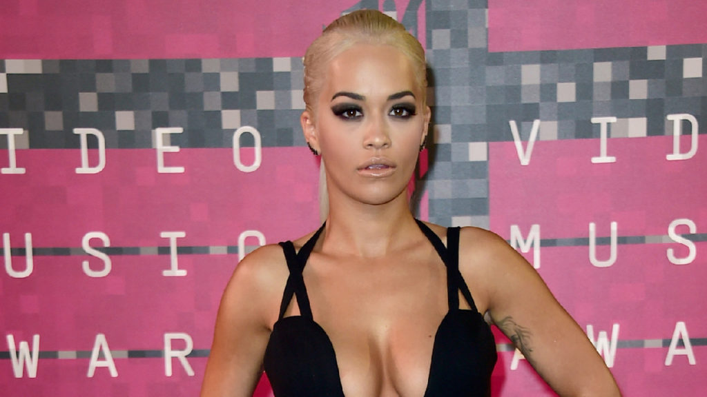 Rita Ora Hot Decollete Wallpapers 1024x576 - Rita Ora Net Worth, Pics, Wallpapers, Career and Biography