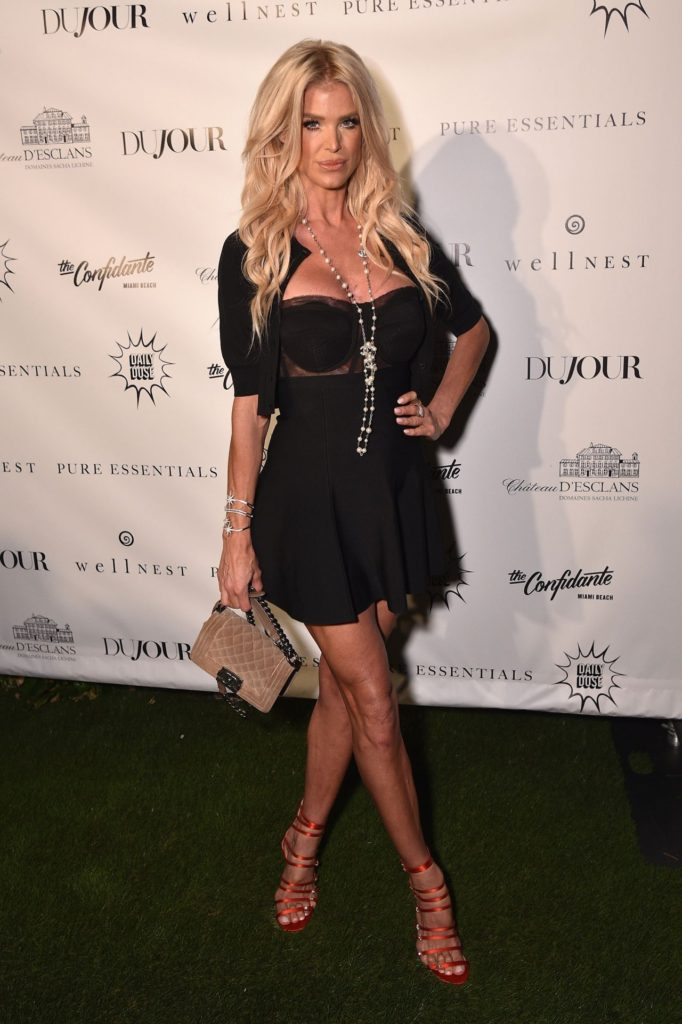 Victoria Silvstedt Black Gala Dress 682x1024 - Victoria Silvstedt Net Worth, Pics, Wallpapers, Career and Biograph