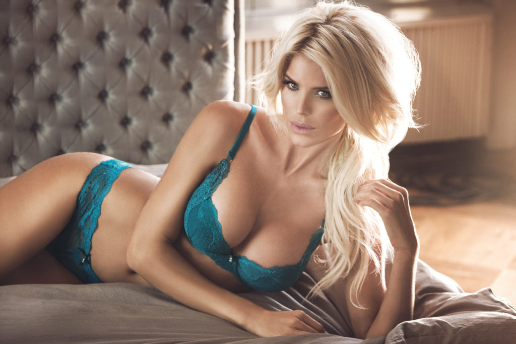 Victoria Silvstedt Hot Blue Lingerie Wallpapers 1024x683 - Victoria Silvstedt Net Worth, Pics, Wallpapers, Career and Biograph