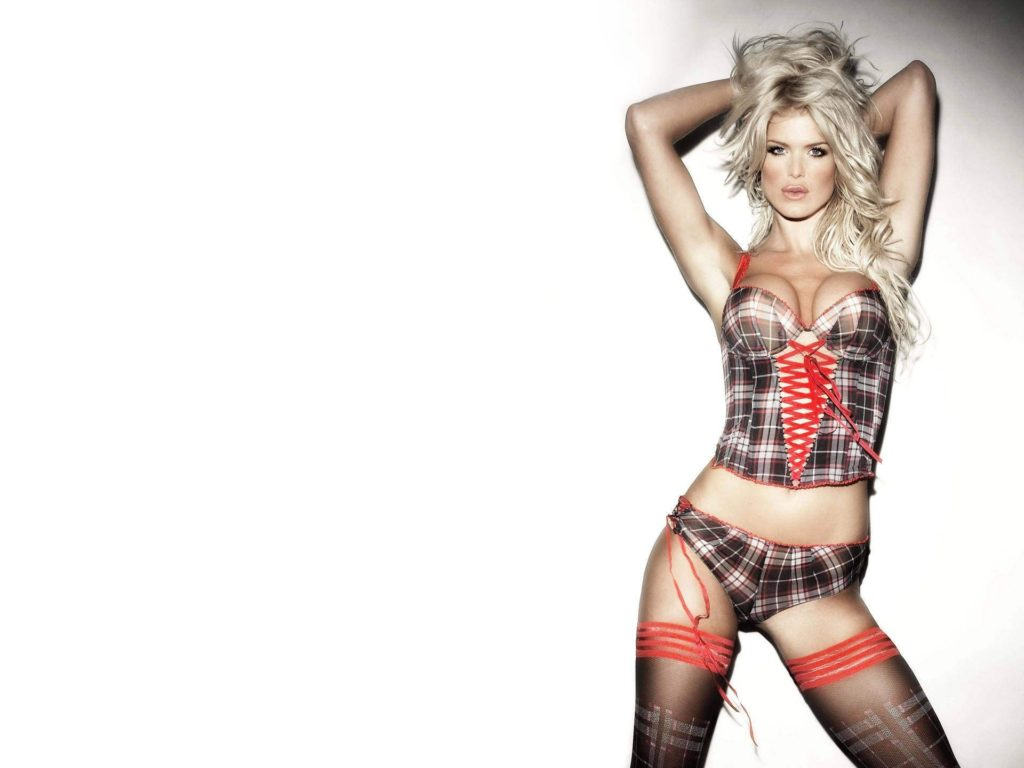 Victoria Silvstedt Hot Lingerie Panty Wallpapers 1024x768 - Victoria Silvstedt Net Worth, Pics, Wallpapers, Career and Biograph