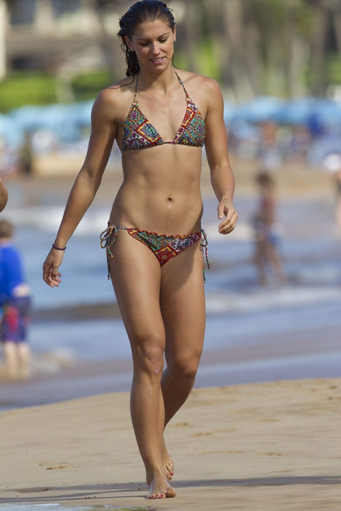 Alex Morgan Hot Beach Pics 683x1024 - Alex Morgan Net Worth, Pics, Wallpapers, Career and Biography
