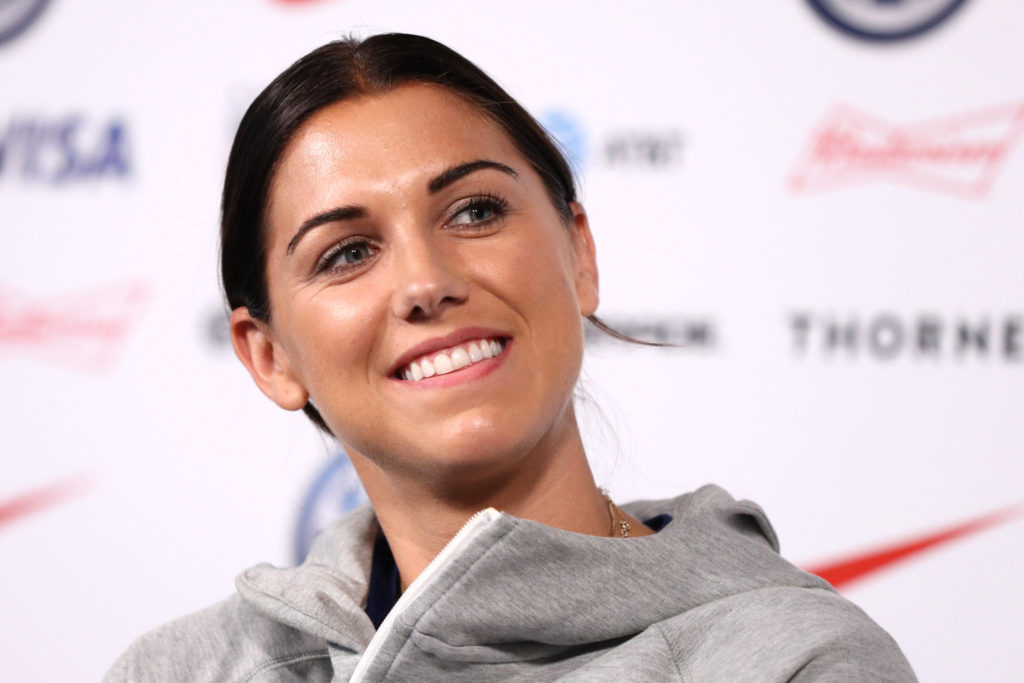 Alex Morgan Smile Pics 1024x683 - Alex Morgan Net Worth, Pics, Wallpapers, Career and Biography