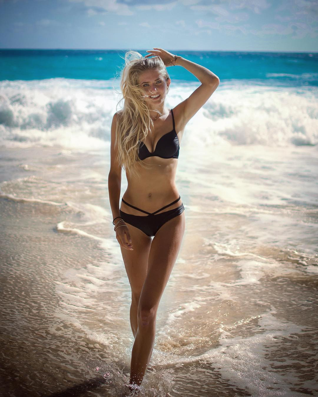 Alica Schmidt Bikini Images By The Sea - Alica Schmidt Net Worth, Pics, Wallpapers, Career and Biography