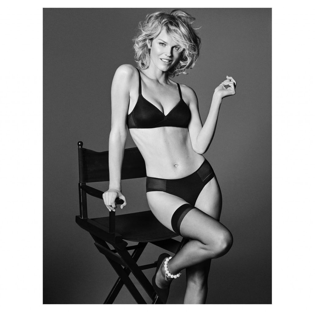 Eva Herzigova Hot Black Underwear Pics - Eva Herzigova Hot Black Underwear Pics