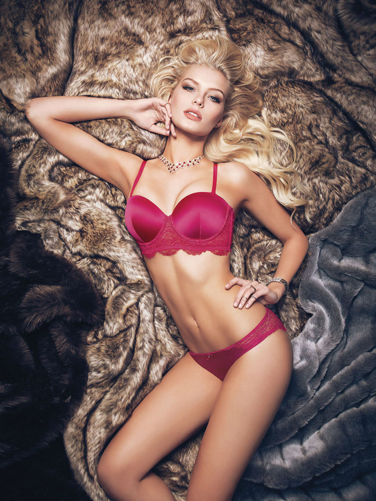 Gintare Sudziute Hot Pink Lingerie Modeling 768x1024 - Gintare Sudziute Net Worth, Pics, Wallpapers, Career and Biography
