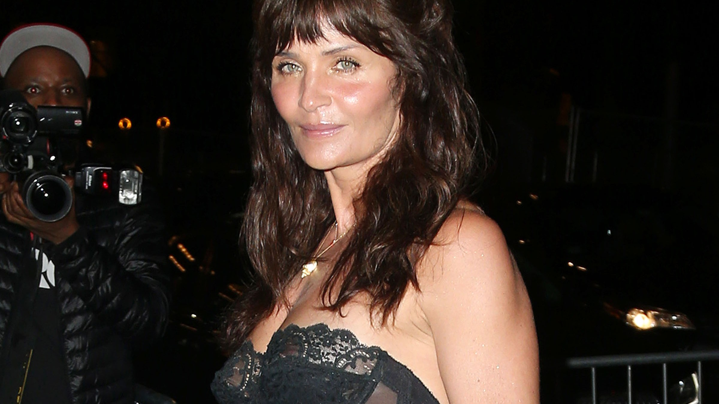 Helena Christensen After Party Pics 1