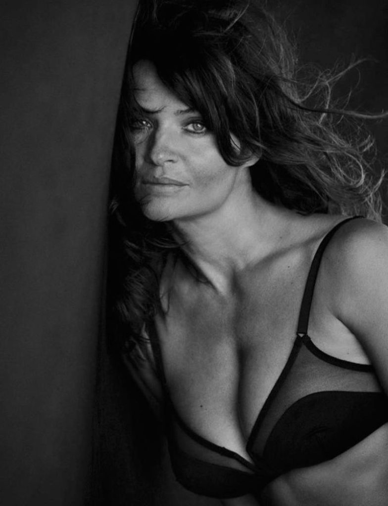 Helena Christensen Hot Black Bra Pics 784x1024 - Helena Christensen Net Worth, Pics, Wallpapers, Career and Biography