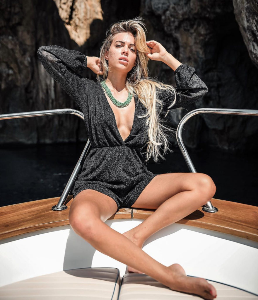 Ludovica Pagani Hot Yacht Pose 881x1024 - Ludovica Pagani Net Worth, Pics, Wallpapers, Career and Biograph