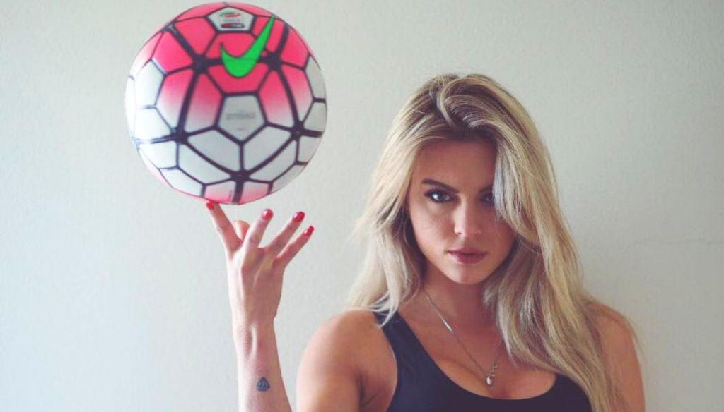 Ludovica Pagani Posing With Ball 1024x584 - Ludovica Pagani Posing With Ball