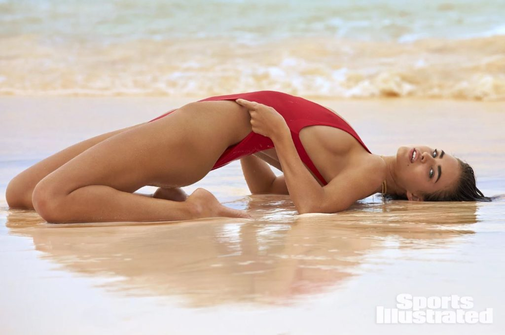 Robin Holzken Hot Red Swimsuit Pose Wallpapers 1024x679 - Robin Holzken Hot Red Swimsuit Pose Wallpapers