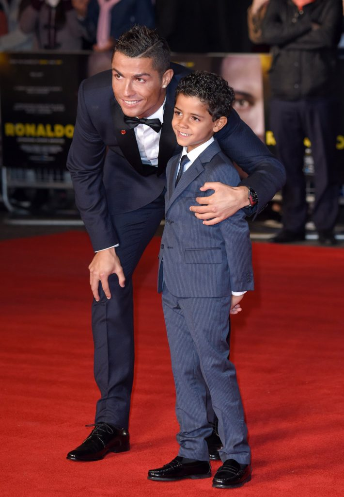 Cristiano Ronaldo His Son Red Carpet Pics 710x1024 - Cristiano Ronaldo & His Son Red Carpet Pics