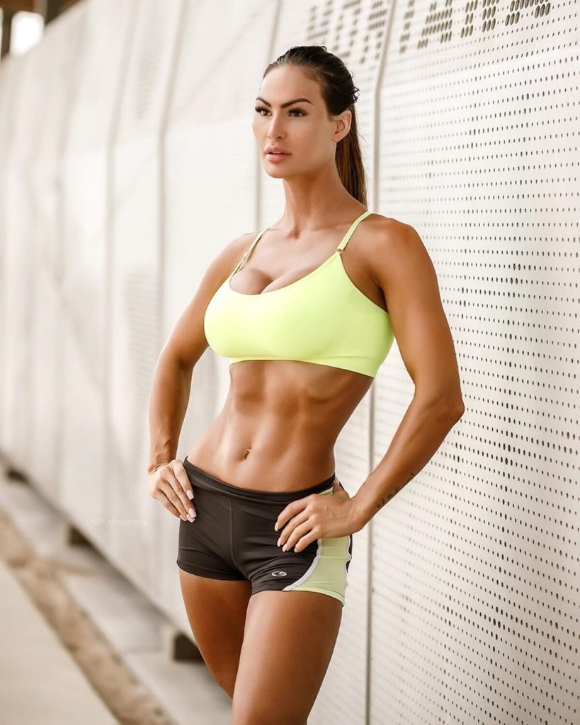 Katelyn Runck Hot Yellow Sports Bra 819x1024 - Katelyn Runck Net Worth, Pics, Wallpapers, Career and Biography