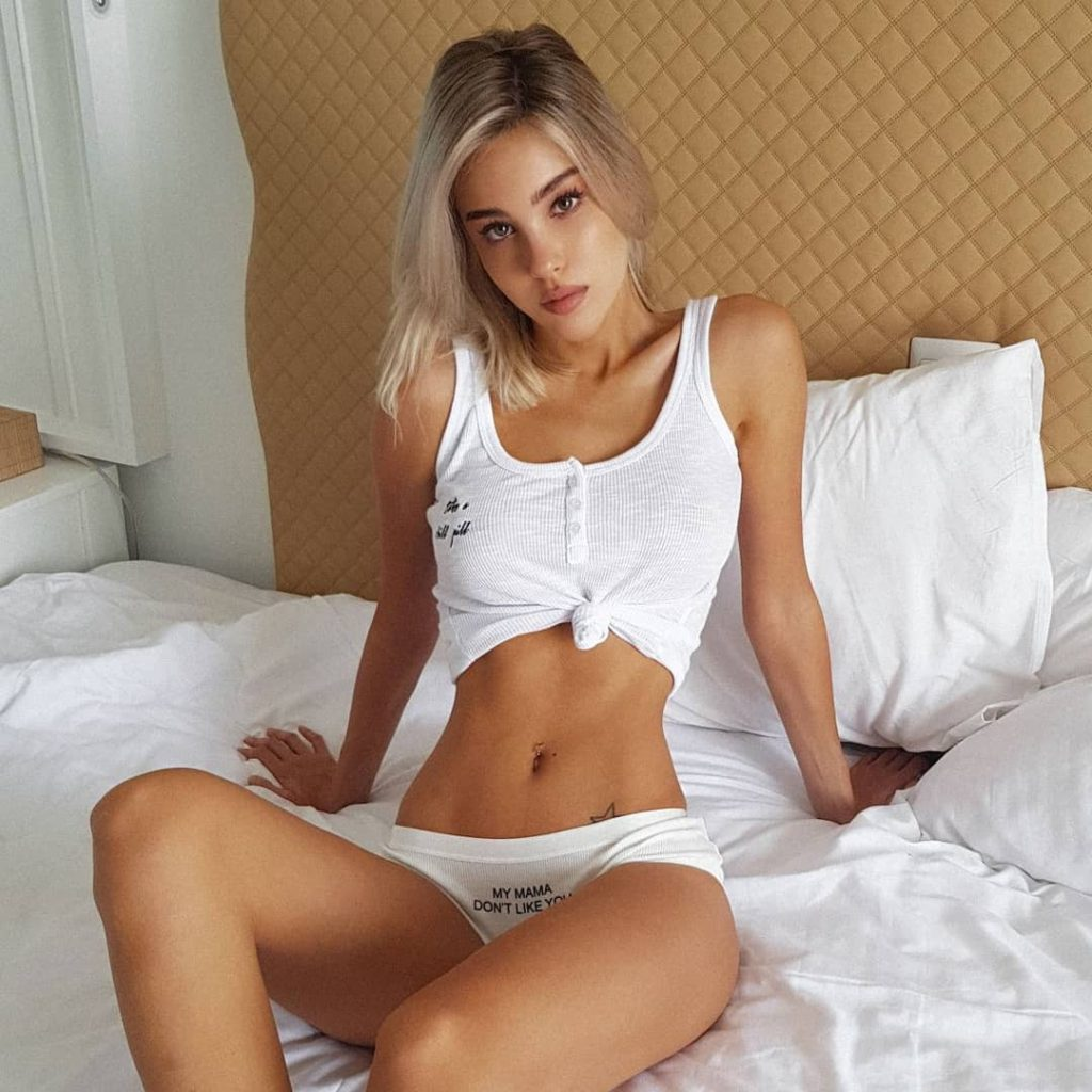 Maria Domark Hot Underwear Bed Pics 1024x1024 - Maria Domark Net Worth, Pics, Wallpapers, Career and Biograph