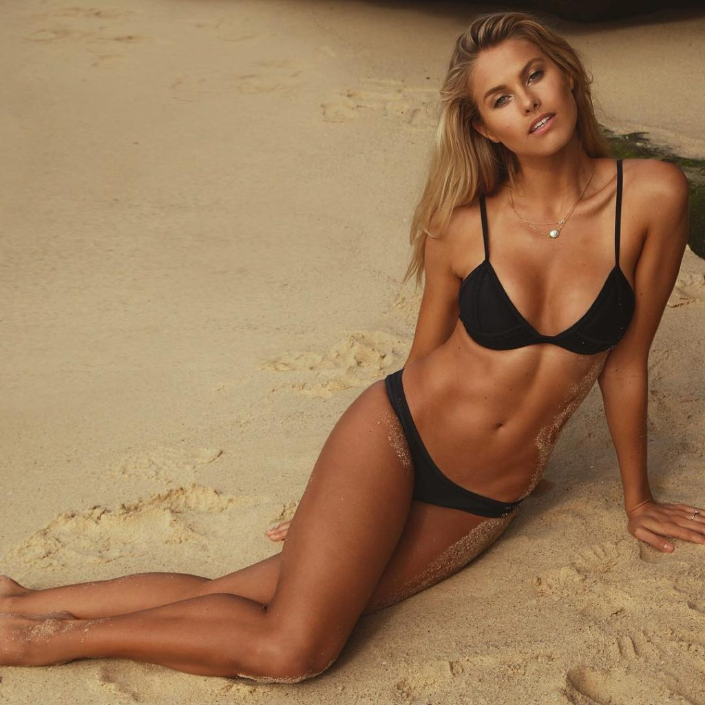 Natalie Jayne Roser Hot Black Bikini On Sands 1024x1024 - Natalie Jayne Roser Net Worth, Pics, Wallpapers, Career and Biograph